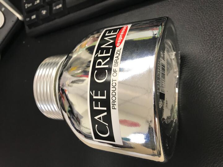 怡网啡俄罗斯进口 波旁贵族CAFECREME 精美包装系列速溶咖啡100g/瓶咖啡粉 速溶咖啡 组合(银瓶+金橙瓶)共2瓶 晒单图