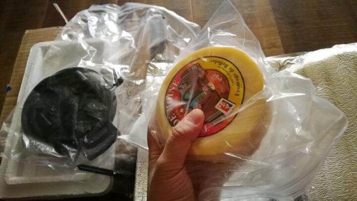 瑞慕(swissmooh) 瑞士原装进口奶酪 传统奶酪芝士 起司干酪400g 送切削装置 晒单图