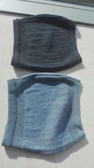曼迪卡威护腰带收腹带保暖护肚子护胃暖宫 深灰色 晒单图