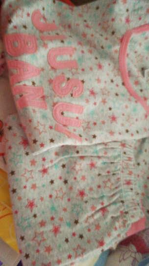 久岁伴女童家居服秋衣秋裤套装长袖睡衣儿童家居服2212 2212花灰 160 晒单图