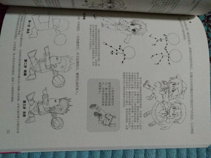 新手漫画教程超值经典(套装共4册) 晒单图