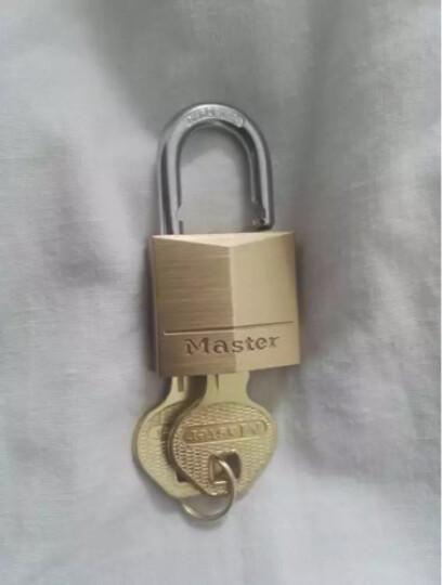 玥玛防盗挂锁仿古铜锁大门仓库门锁铁门锁抽屉锁防水防锈锁头小锁 2757(中号) 晒单图
