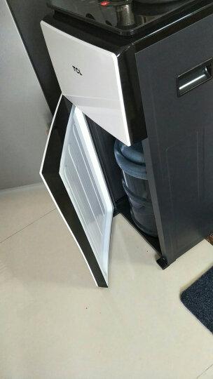 TCL 立式家用节能茶吧机 办公室立式全自动上水智能触控温热饮水机 速热多功能开水机饮水器 钢琴白 晒单图