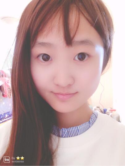 帝飞(DIFEI) 帝飞假发女长直发内扣隐形无痕流行空气刘海齐腰 深棕色 晒单图