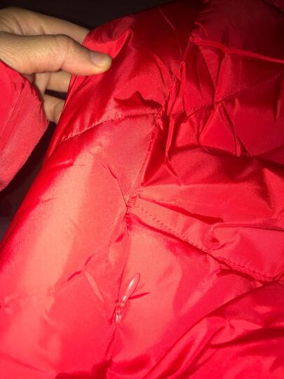 韵初佳人孕妇羽绒服女中长款韩版保暖外套 韩版宽松时尚修身孕妇装冬装 水紫 XL 晒单图