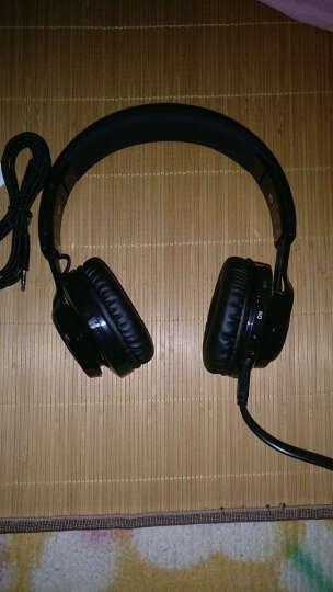 Sound Intone蓝牙耳机头戴式 无线带麦音乐重低音手机电脑笔记本台式通用耳麦 SoundIntone BT-06 亮黑色 晒单图