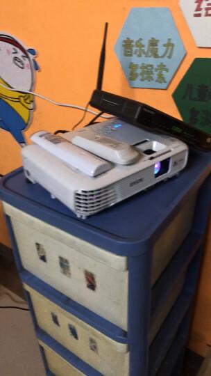 爱普生(EPSON)投影仪 办公家用 高清便携投影机 CB-X41(3600流明 标清) 标配+120英寸电动幕+吊架 晒单图