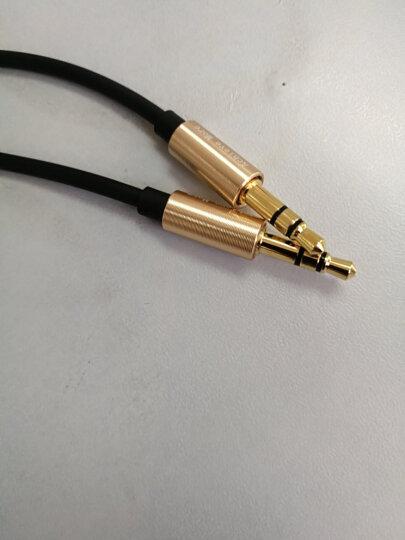阿奇猫 车用AUX音频线 3.5mm公对公车载/音响连接线 耳机/电脑光纤转换线 锖色 晒单图