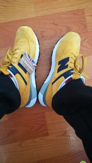 New Balance NB 576系列 女鞋复古休闲运动 W576PYB/黄色 39 晒单图