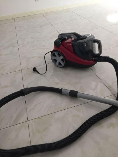 飞利浦(PHILIPS)吸尘器FC8760/81家用无尘袋大功率(酒红色) 晒单图