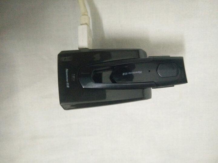 纽曼(Newmine) 车载蓝牙耳机商务智能语音免提电话立体声适用于苹果小米华为安卓通用 经典黑 晒单图