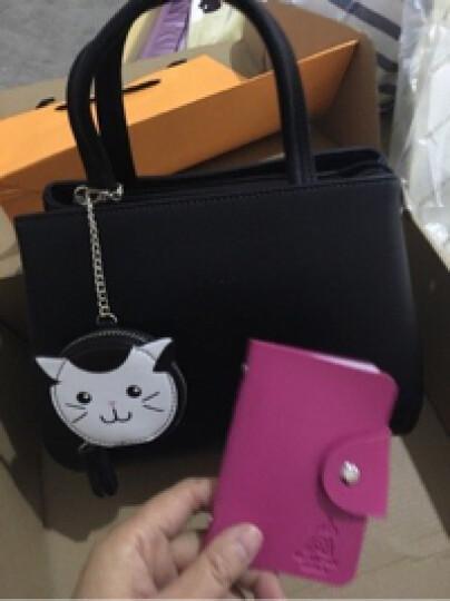 稻草人女包手提包女卡通挂饰包包优雅女士包MNK70553L-08 A款-猫咪 晒单图