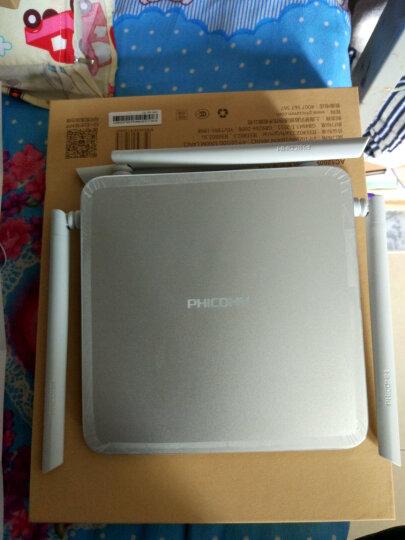 斐讯K2P月光银 AC1200智能双频全千兆无线路由器 有线无线双千兆 WiFi穿墙 晒单图
