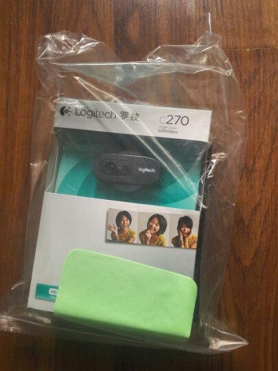 罗技(Logitech) 台式电脑摄像头电视笔记本USB免驱高清网络主播直播视频带麦克风 C1000e4K内置全向双麦克风自动聚焦会议版 晒单图