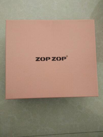 【大牌秒杀 真皮定制】ZOP ZOP 时尚潮牌 专柜同步 内增高保暖羊羔毛短靴女 米色 38 晒单图