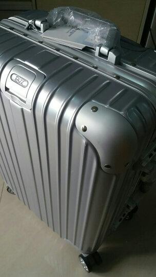 【一体化铝框】EAZZ铝框拉杆箱万向轮行李箱 男女士登机箱20/24/29英寸旅行箱 高端 铝框-玫瑰金 20英寸-登机箱(热卖) 晒单图