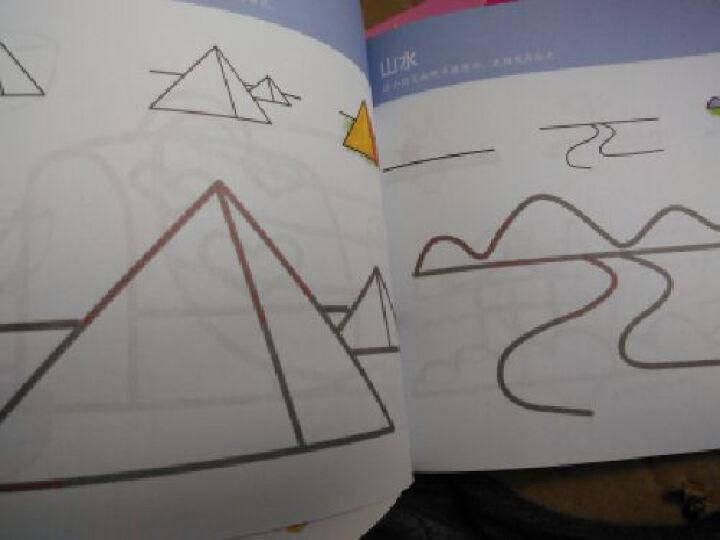 启迪幼教:幼儿绘画小课堂 (创意练 内含奖励小贴纸 套装全6册) 晒单图