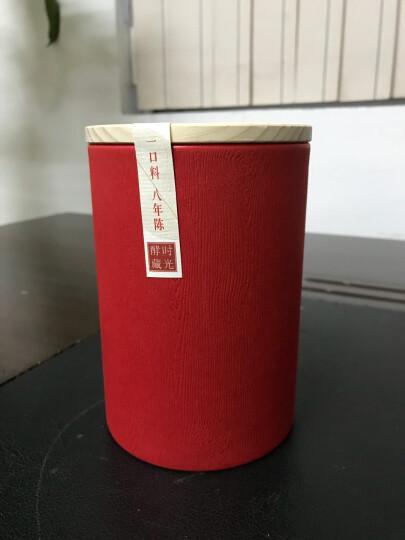 湘益茯茶 湖南安化黑茶 益阳茶厂金花茯砖时光酵藏畅饮版八年陈100g 一盒 晒单图