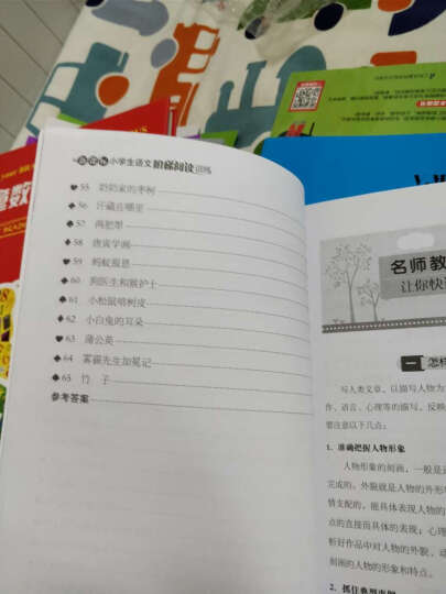 新课标 小学生语文阅读与写作高效训练 六年级(最新版) 晒单图
