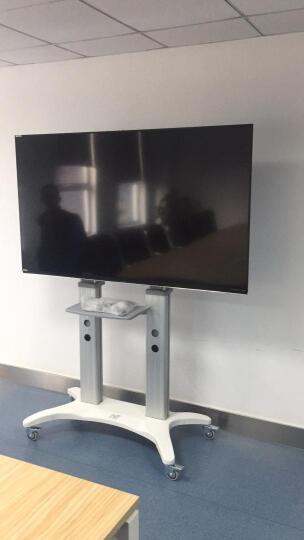 NB AVF1800-70-1P(55-80英寸)通用多媒体教学电视支架视频会议移动推车激光电视架显示器触摸一体机移动挂架 晒单图
