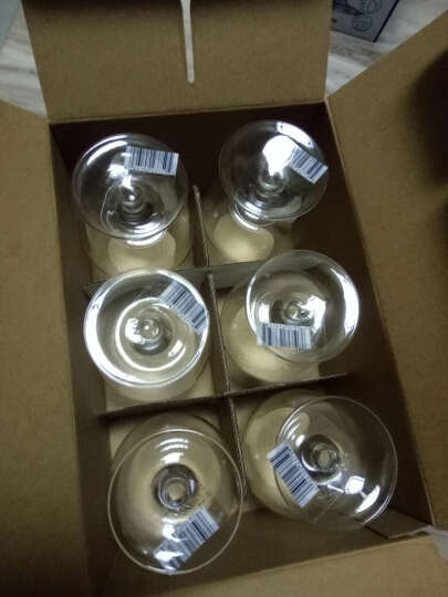 乐美雅(Luminarc)酒杯洋酒杯细品干邑白兰地杯25CL六只装 12148 晒单图
