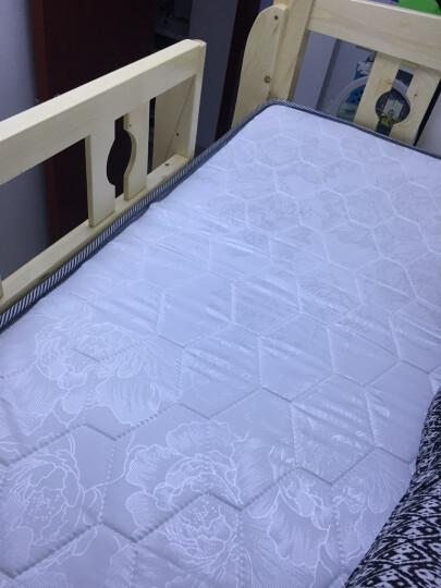 雅霏包邮  实木床 儿童床 松木床 上下铺 高低床 上下床 子母床 双层床学生床宿舍高低床 (清漆)上铺1米2下铺1米4 晒单图