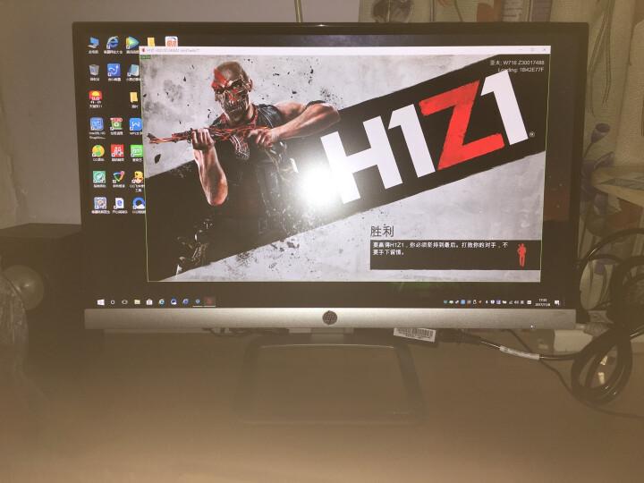 惠普(HP)23ES 23英寸窄边框6.3mm纤薄IPS屏广视角金属底座液晶显示器(银色) 晒单图