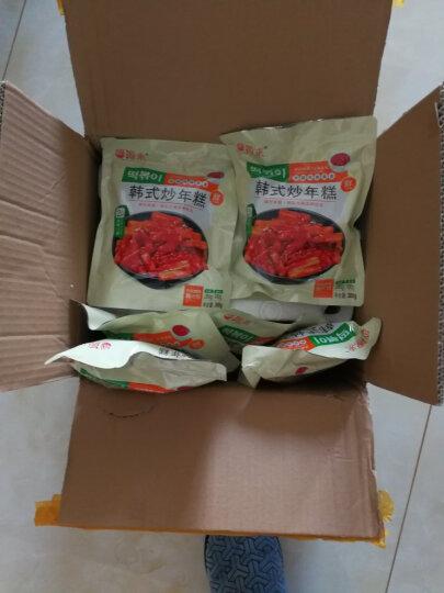 年糕条韩国速食炒年糕关东煮食材380g*3袋 3袋 晒单图