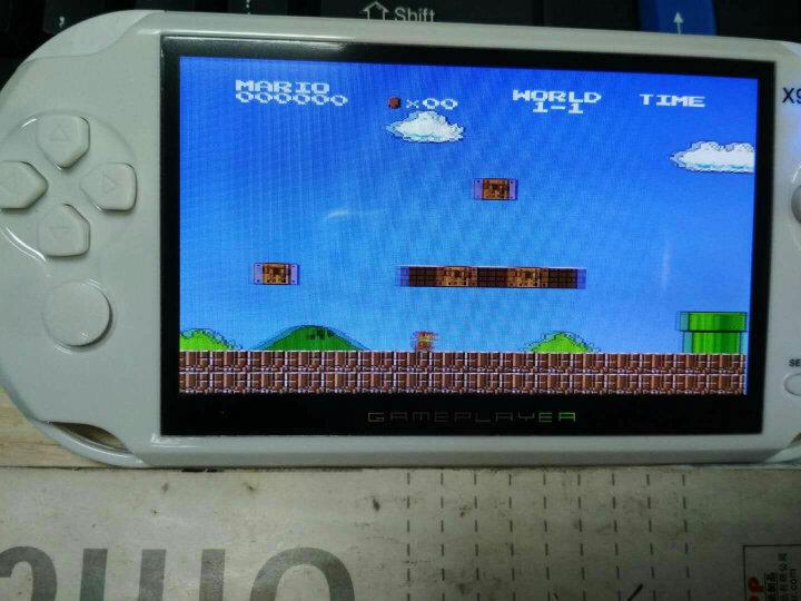 酷孩游戏机经典怀旧游戏机掌机5.1掌上游戏机PSP游戏机彩屏GBA游戏机口袋妖怪怀旧游戏机 RS-01 4.3英寸16G内存(贵族白) 晒单图