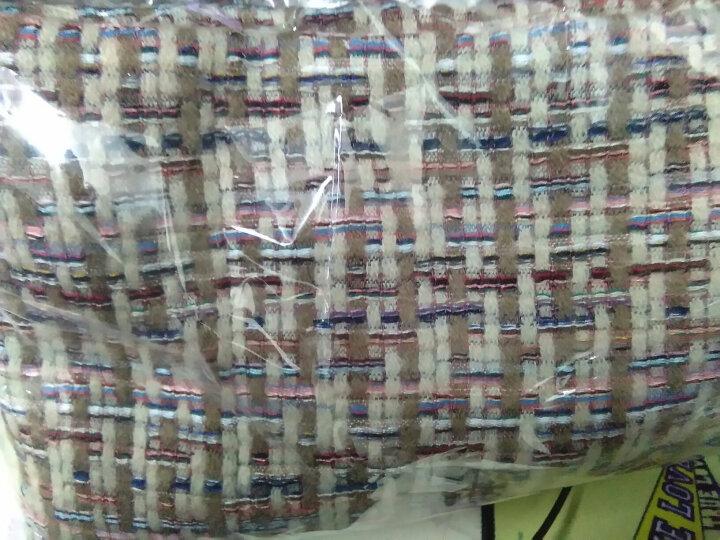 拓瑟围巾女冬季新品学生韩版时尚加厚球球保暖女士围巾披肩 编织米色 晒单图