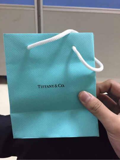 蒂芙尼(Tiffany & Co.) 纯银镶珐琅心钥匙吊坠项链七夕情人节礼物 GRP04519 晒单图