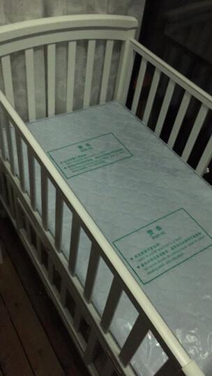 好孩子(gb) 好孩子婴儿床实木环保宝宝床bb床多功能游戏床摇篮新生儿床 床+8件套蓝色(送椰棕床垫) 晒单图