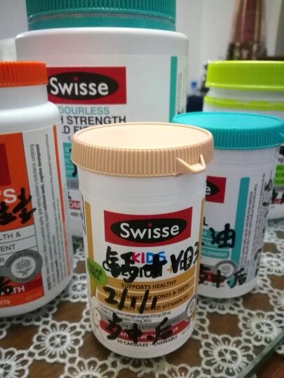 Swisse 儿童钙+维生素D3胶囊 50粒片 晒单图