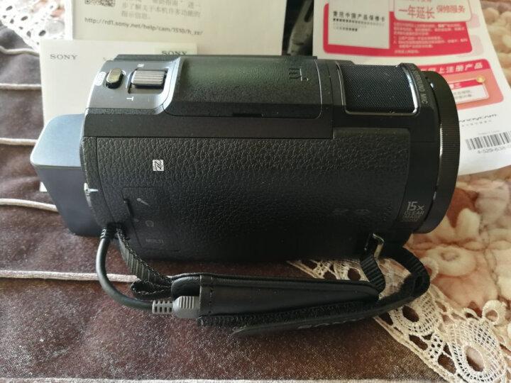 索尼(SONY)FDR-AX30 4K高清数码摄像机 内置64G内存 平稳光学防抖 10倍光学变焦 蔡司镜头 支持WIFI/NFC 晒单图