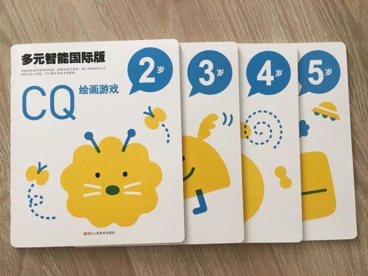多元智能国际版:IQ、CQ、EQ潜能开发游戏大书(2-5岁)(套装共12册) 晒单图