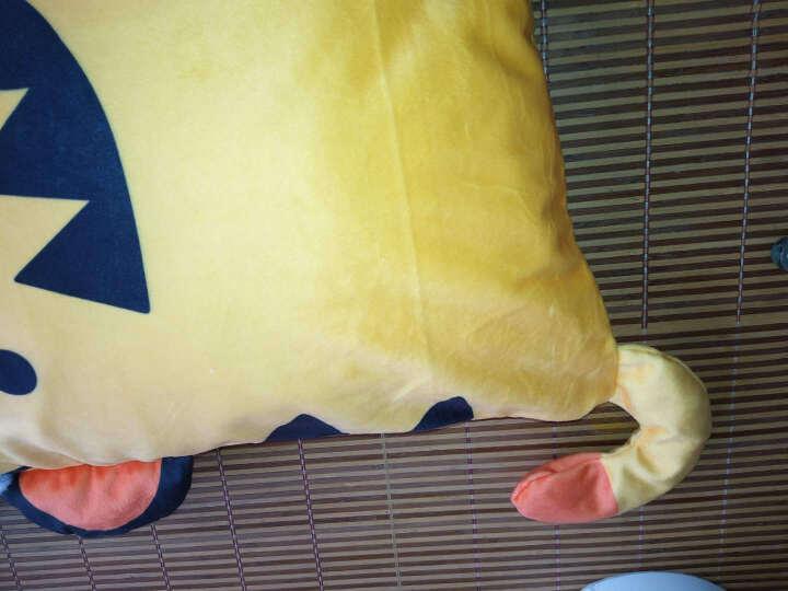 皇雀家纺  卡通儿童枕头芯小孩宝宝婴儿卡通3岁羽丝绒软可水洗0-12岁可用 老虎 31*50cm 晒单图