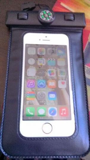 宾果iphone5手机防水包防水袋大屏防水套苹果三星Galaxy note3防水袋小米华为 5.0寸带指南针黑色 晒单图