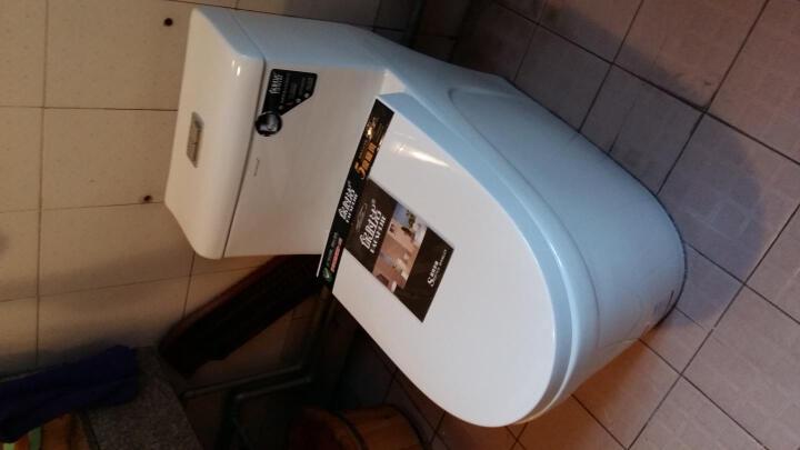 保时洁(BAOSHIJIE) 马桶 急速排污超漩虹吸防臭坐便器马桶连体座便器马桶 C款250坑距 雪花纳米釉 晒单图
