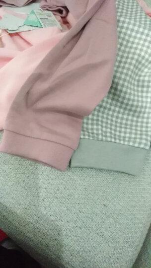 俞兆林(YUZHAOLIN) 儿童纯棉内衣套装男女童内衣裤2件套小孩休闲中大童学生秋衣秋裤新品 蘑菇小熊-浅灰 90CM 晒单图