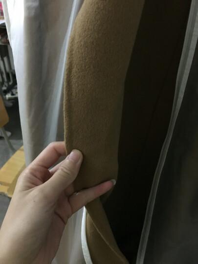 【高品质】榭都 双面羊绒大衣女 新款风双面呢外套 双面绒腰带 长款羊毛大衣女 驼色V339 驼色 S  试衣无忧-若退货-承担来回运费 晒单图