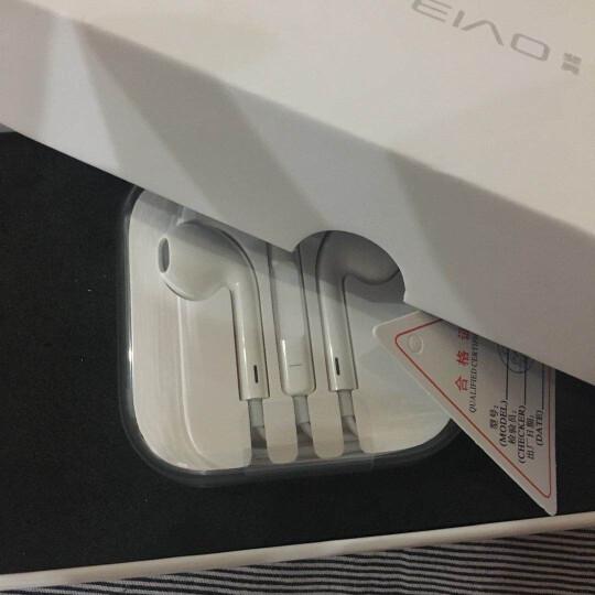 【次日达】FO苹果耳机线控入耳式适用iPhone5/6s/7p/8plus/xipadmacbook 入耳式线控耳机 圆头3.5MM适用原装插孔 晒单图