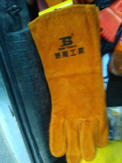 波斯 电焊手套 防护焊工手套 电焊隔热防火阻燃焊接手套  15