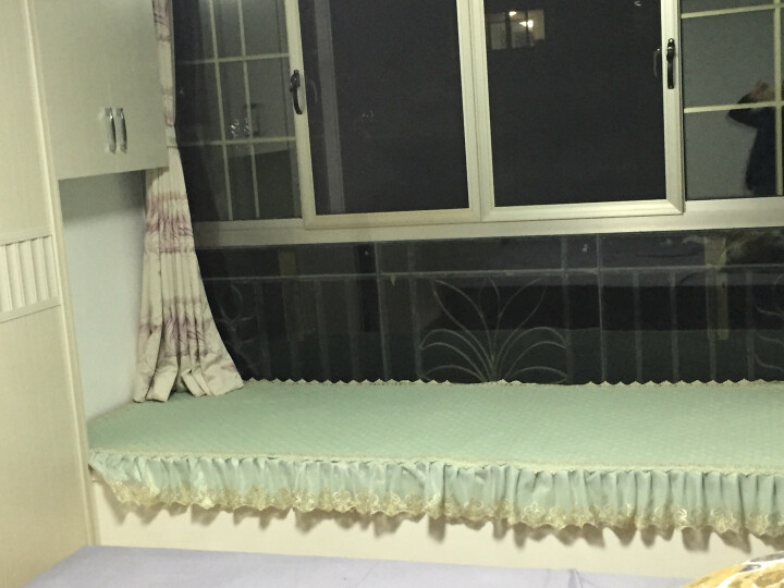 金字塔飘窗垫窗台垫海绵垫定制实木沙发垫卧室榻榻米加厚坐垫子 高密度海绵+全包布料(颜色需备注) 5CM厚度定做 晒单图
