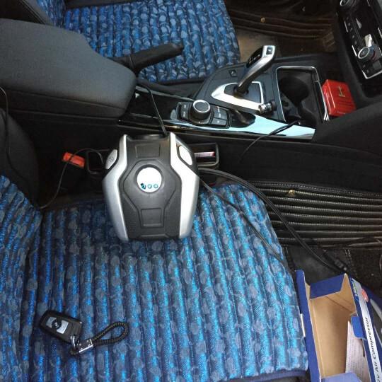车游者 车载充气泵 数显预设 汽车轮胎打气泵车用便携式打气机 数显预设款+粘贴式支架 晒单图
