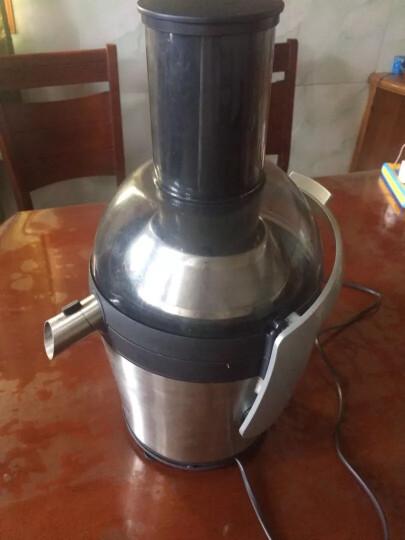 飞利浦(PHILIPS)榨汁机 大口径家用电动防滴漏不锈钢外壳可做果汁 HR1871/00  晒单图