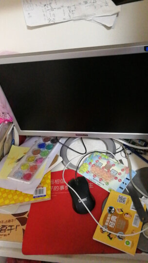 松人(SONGREN) SW190B 19英寸电脑显示器 LED背光液晶显示屏 前银后黑 晒单图