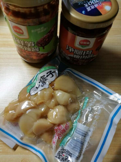 金菜地 肉酱海鲜酱虾酱瓶 拌饭拌面酱佐餐调味料 开胃下饭菜 258g香菇鲜笋酱 晒单图