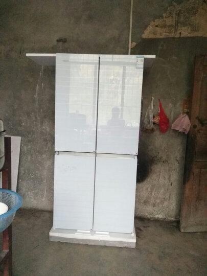 康佳(KONKA) BCD-396MN-BB 396升十字对开门冰箱 钢化玻璃 经济实用 晒单图