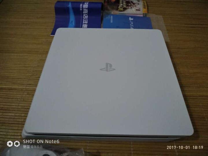 索尼(SONY)【新PS4国行主机】新 PlayStation 4 电脑娱乐游戏主机 500G(白色) 晒单图