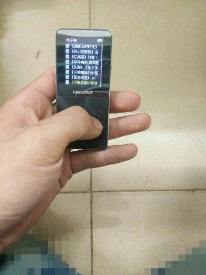 理想の星(ldealist) 金属MP3外放MP4无损HIFI播放器有屏插卡迷你游戏电子书录音 炫酷黑16GB官方标配 晒单图